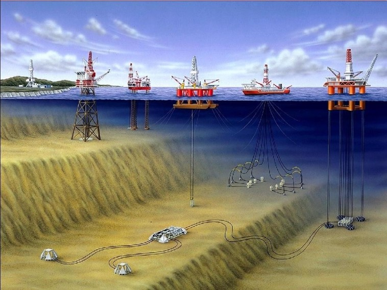 Offshore Oil Drilling in Natuna