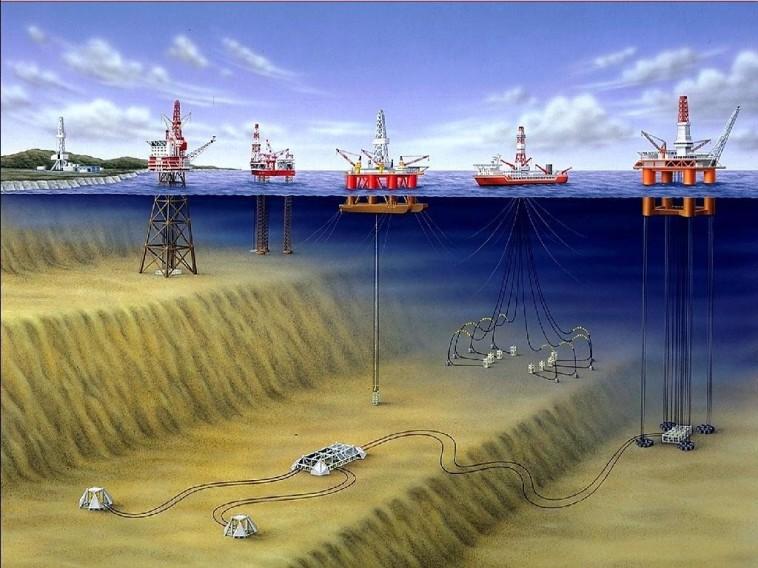 Offshore Oil Drilling in Natuna